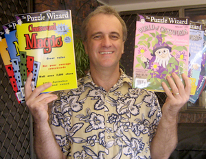 Greg with his magazines